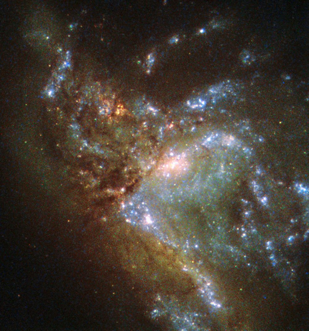 National science foundation on colliding interacting galaxies in the cosmos